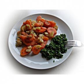 Gemüse /Karotten-Kartoffelpfanne