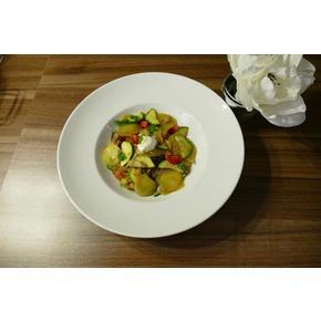 Kartoffel - Gemüse - /schnelle Kartoffel - Gemüse - Pfanne
